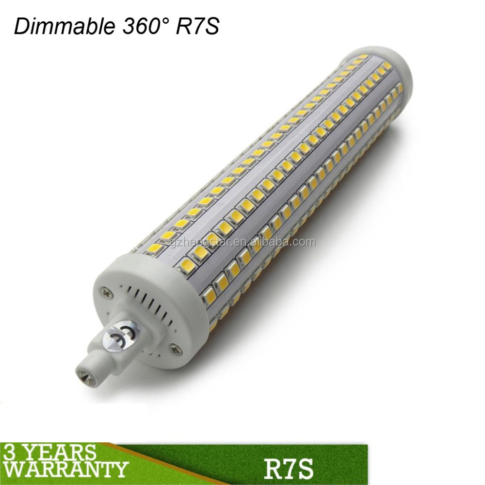 UL ERP CE approval r7s led 3000 lumen r7s led 118mm led r7s 20w