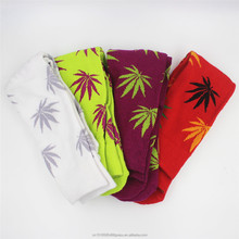 Men Socks Maple Leaf Fashion Plantlife Cannabis Marijuana Weed