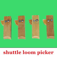 Shuttle loom Picker