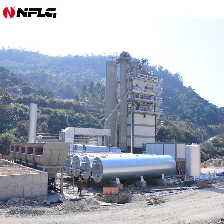 Supply hot mix asphalt batching plant and related equipments with 25 years experience