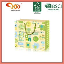 OEM Production Paper Shopping Bag Cheap Printed Names Different Types Shopping Bags