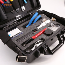 FCST210201 Deluxe Fiber Optic cable Fusion Splicing Tool kit