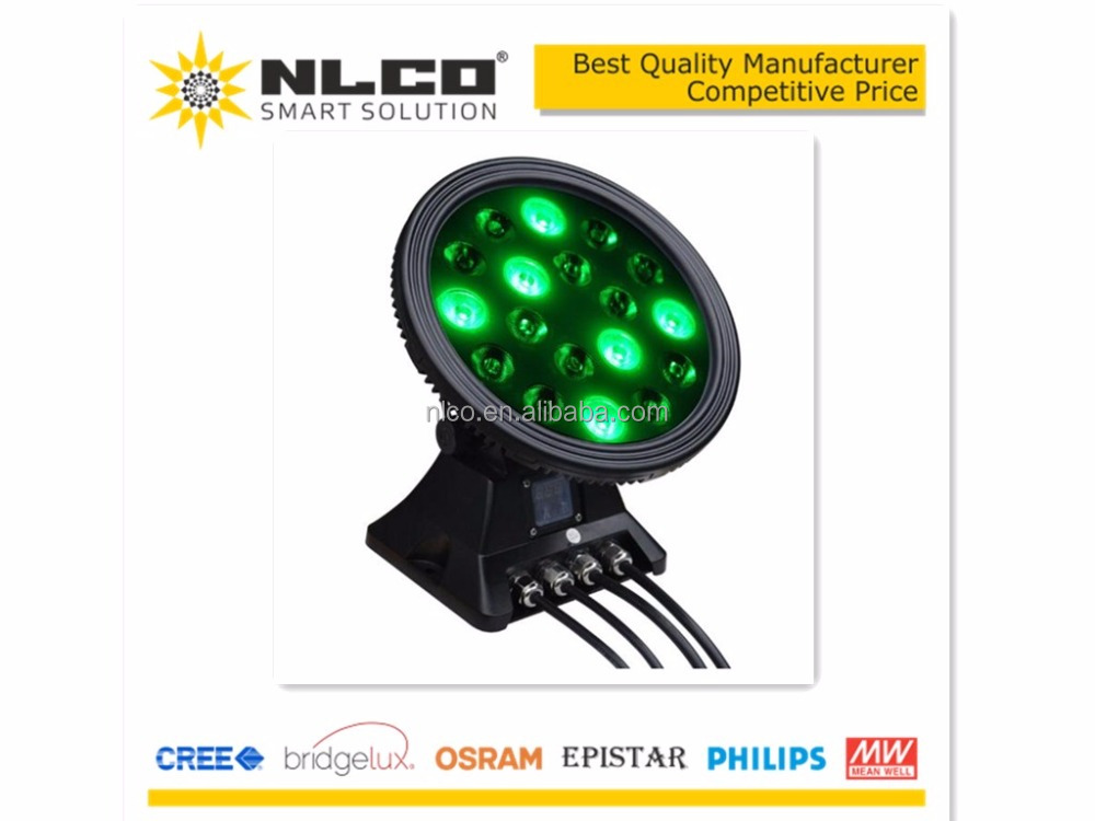 NEW in 2017 IP65 54W RGB color mixing mini outdoor apollo led grow light
