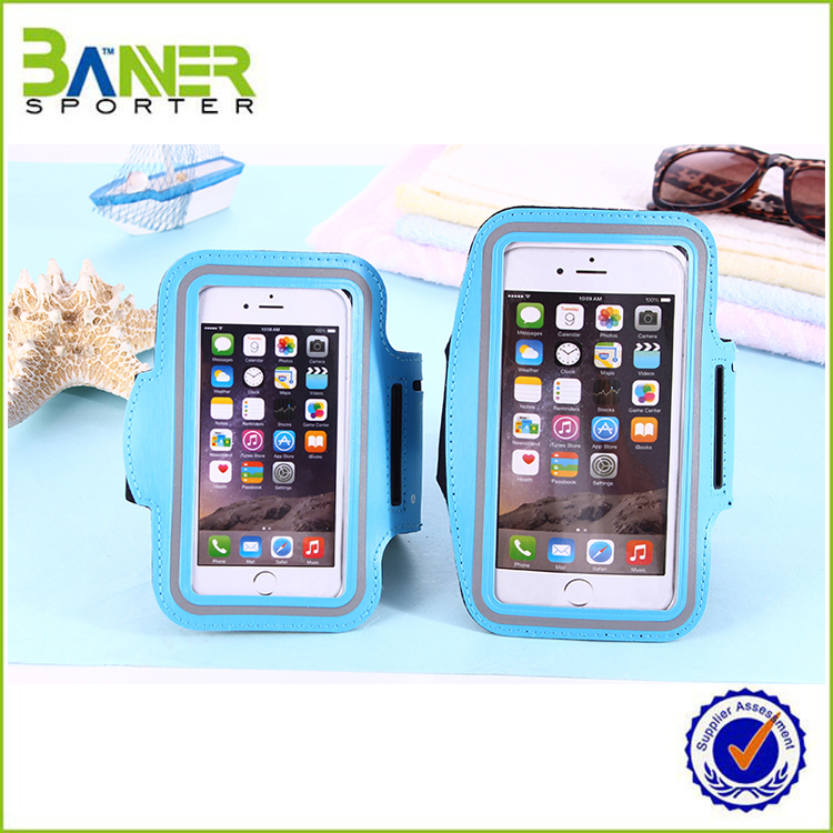 2016 Wholesale Waterproof Neoprene Sport Armband Phone