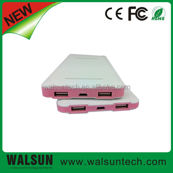 Hot Selling New Fashion Design Products Of Power Bank For 2014
