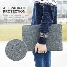 Wholesale Baseus 15 inch Waterproof Snowflake Material Inner Package Case Pouch Bag Sleeve for MacBook Laptop Notebook