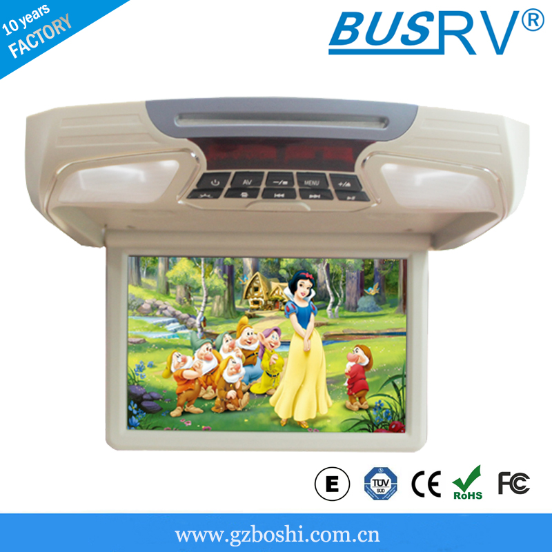 Hot HD 12 inch ceilling mount car led tv with HDMI inputs!!!