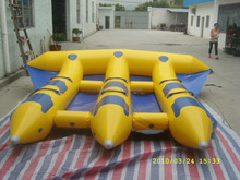 PVC inflatable flying fish sea toys inflatable banana sea toys