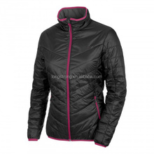 RYH213 New arrival outdoor winter padded women half jacket