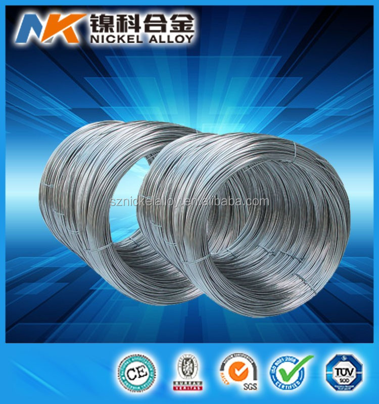 Soft magnetic mumetal permalloy 78 wire