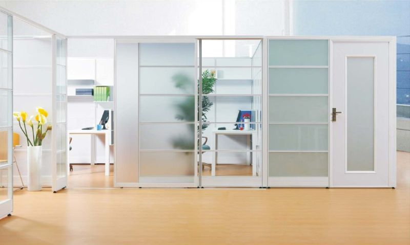 Office Furniture Alibaba Express Aluminium Frame Sliding Glass