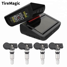 solar tpms for car wireless tire pressure monitoring system