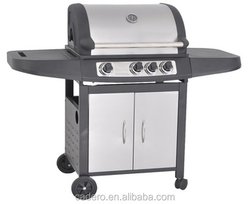 CBA-310CYB gas grill with side burner