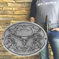 custom metal fashion fancy beer belt buckle, reversible belt buckle with your logo
