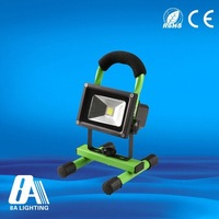 High quality 10w rechargeable led floodlight hot sale outdoor led floodlight parts