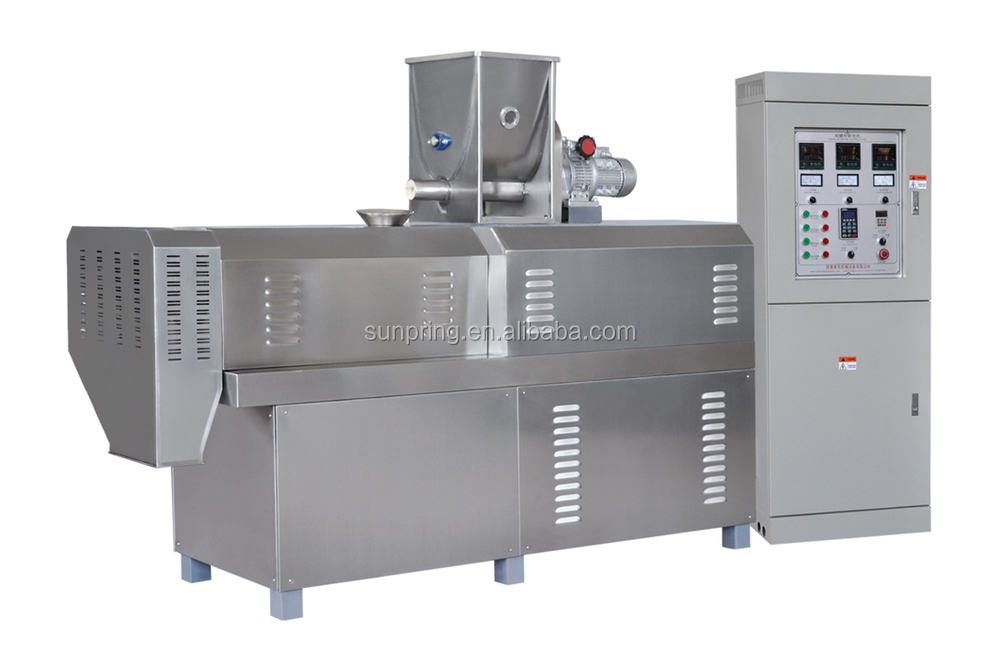 Fully Automatic flakes cereal corn cheese puffs extrusion snack food
