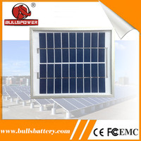 Protable low price 5w poly mini solar panel for led light