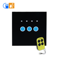 3 Gang 1 Way Clipsal Remote Control Touch Wall Switch
