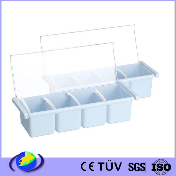 custom made rice bucket seasoning salt condiment dispenser injection moulding bottle box parts