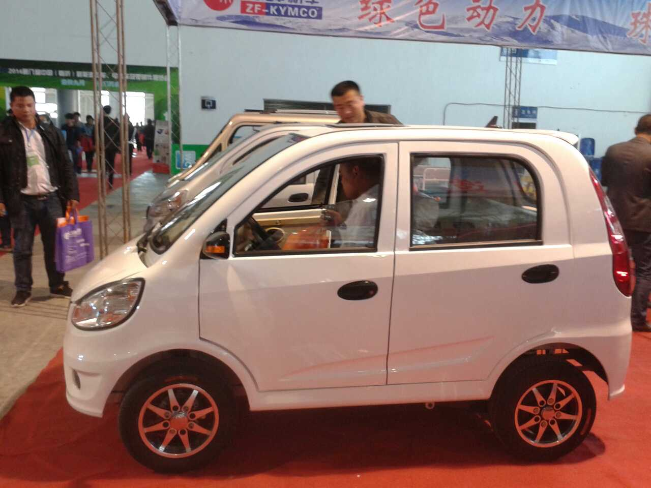 60v perfect design electric car on sale in China