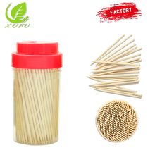 Custom dental wooden toothpick diameter 2.0mm with box