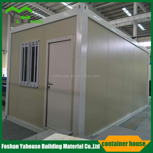 modern portable low cost steel structure prefab container shop from China