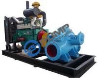 Diesel engine clutch pump