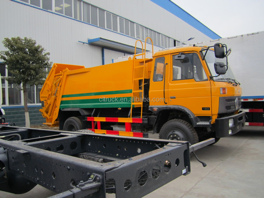 Dongfeng compactor garbage truck price,garbage compactor truck for sale
