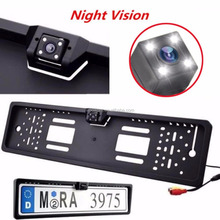 CMOS chips HD Car Night Vision European License Plate backup camera Parking Assistance System