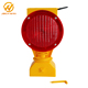 360 Degree Swivel Head Solar LED Flashing Warning Light