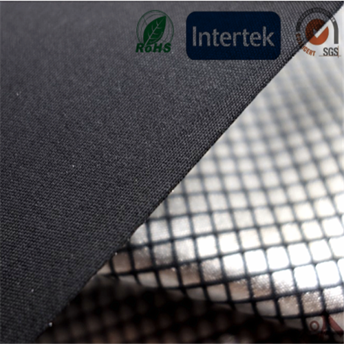 100% polyester silver coated 240T pongee fabric