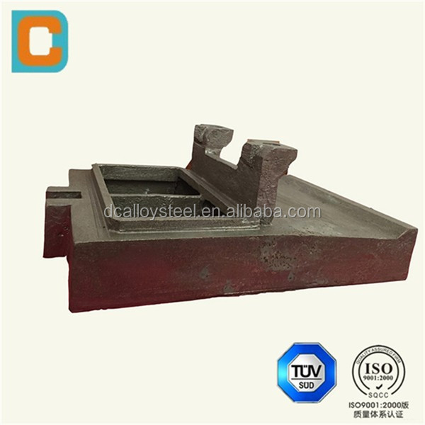 304 stainess steel sand casting for cement plant