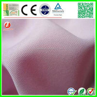 new develop elastic twill polyester peach skin fabric