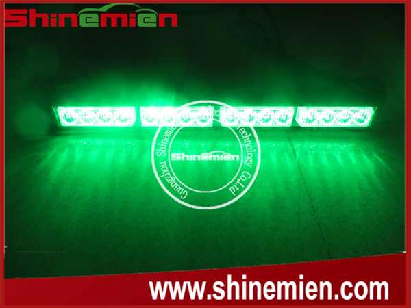 Car Truck Emergency Beacon Light Bar Hazard Strobe green led warning strobe light