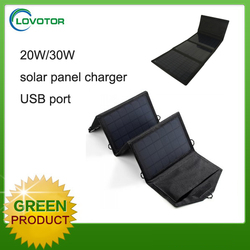 Outdoor solar charger phone solar power charger bag for mobile phone