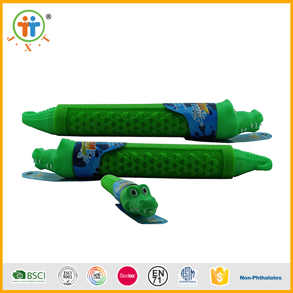 Factory directly sales wholesale plastic foam water gun for kids