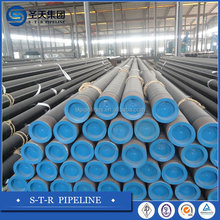 pipe 6'' ( 150mm) ASTM A106 GRP Sch .40 BE. carbon black seamless steel pip