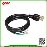 High cost-effective 100% copper power cord for electric grill