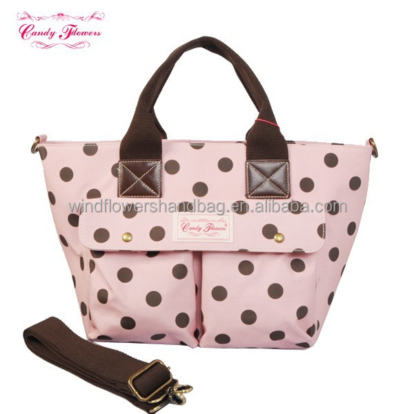 Stylish Best Quality Tote Bags Mother Bag with Diaper Pocket