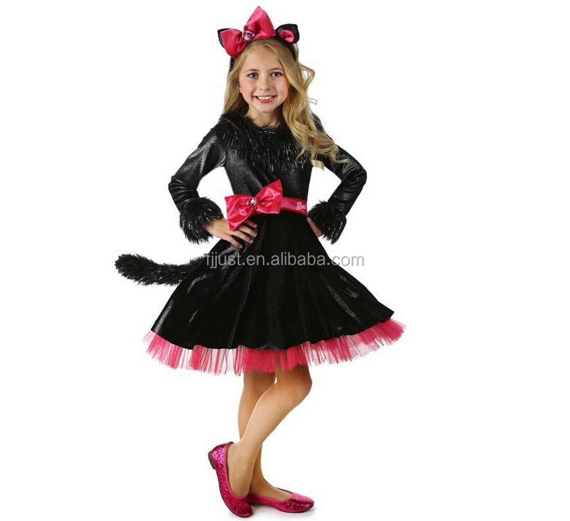 wholesale simple cosplay costume with cats