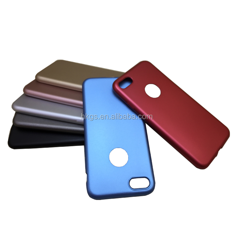 Custom Slim Solid Color Rubber Oil Coated Matte TPU <strong>Cover</strong> For Iphone 6 7 8 X Housing Case