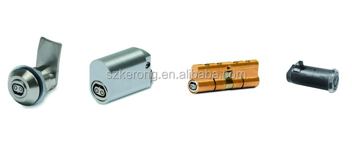 High security cylinder mortise mailbox lock