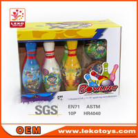 indoor game PU bowling sport game in colorful