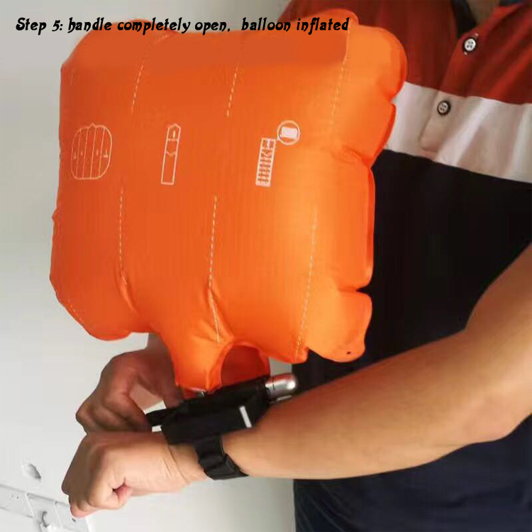 Anti Drowning Inflating Emergency Bracelet Flotation Device Inflatable Water Wristband Wearable Portable Rescue Device