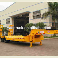 20Ton Vehicle Transport Lowbed Semi Trailer