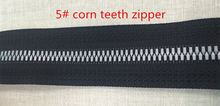 fishbone , corn, closely-pitched , plastic zipper