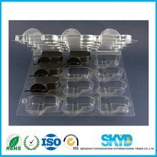 Vacuum forming and PET Plastic Type disposable ESD anti-static component plastic Tray