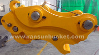 High Quality HARDOX-500 NM400 Material quick coupler excavator
