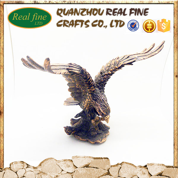 Resim crafts animal Eagle sculpture resin decoration