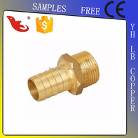 Brass Compression Fittings for pex-al-pex pipes(Two-Way Tee - Flare to NPT on branch)